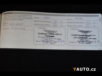 Prodám Aston Martin DB9 6,0 Coupe Touchtronic II, Prem