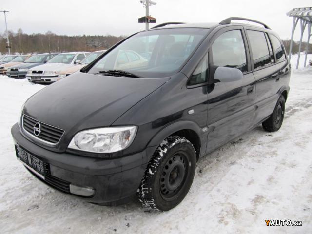 Prodám Opel Zafira 2,2 DTi, EXECUTIVE, 92KW, 7 MÍST.