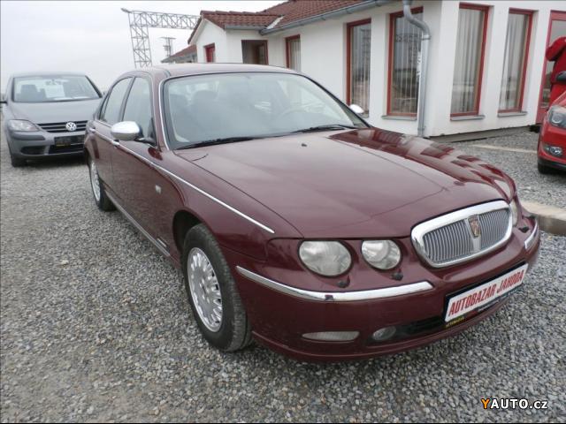 Prodám Rover 75 2,0 CDTi klima, ZAMLUVEN