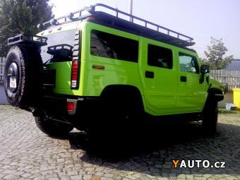 Prodám Hummer H2 6.0L V8 Verde Scandal