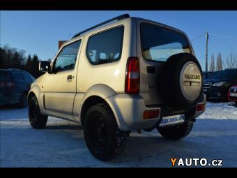 Prodám Suzuki Jimny 1,3 i Nová STK, 4 x 4