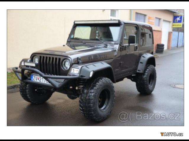 prod m jeep wrangler tj 4 0 sahara prodej jeep wrangler osobn auta. Black Bedroom Furniture Sets. Home Design Ideas