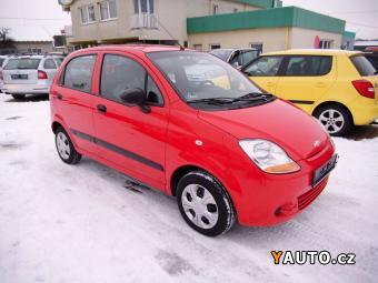 Prodám Chevrolet Matiz 0.8i+SERVISKA+CENTRÁL+SERVO+