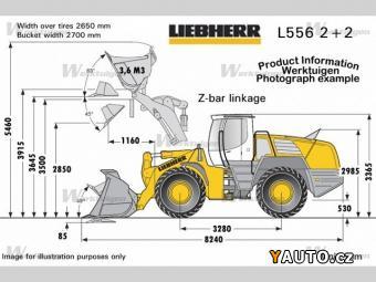 Prodám Liebherr nakladač L556 2plus2 21t