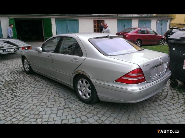 Prodám Mercedes-Benz Třídy S 5.0