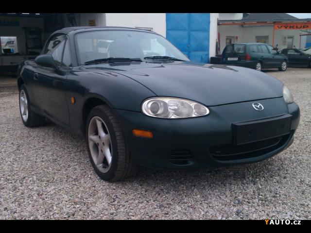 Prodám Mazda MX MX-5 1, 6i 16V