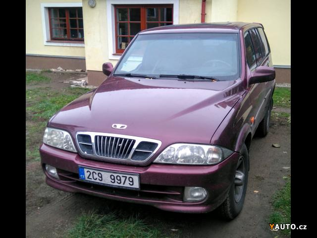 Prodám SsangYong Musso 2, 9TD