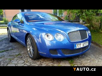 Prodám Bentley Continental GT SPEED 610 PS