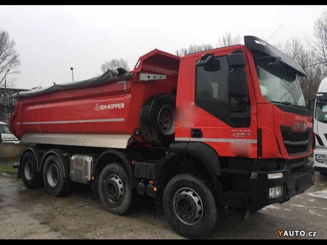 Prodám Iveco Trakker 8x4 S1 EURO 6
