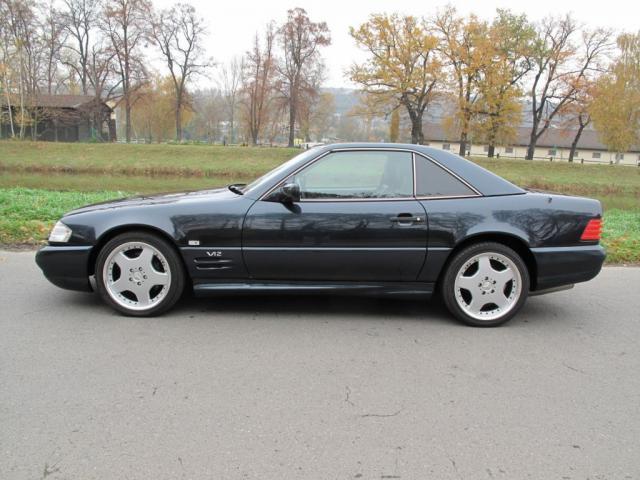 Prod m mercedes benz sl 600 v12 amg 324 kw prodej for Mercedes benz 600 amg