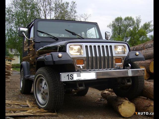 prod m jeep wrangler yj prodej jeep wrangler ter nn vozy. Black Bedroom Furniture Sets. Home Design Ideas