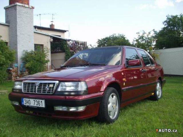 Lancia Thema 832. Prodám Lancia Thema Ferrari