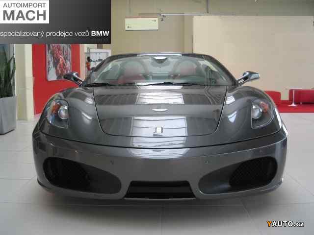 Prodám Ferrari F 430 4,3 Spider - NOVÝ VŮZ