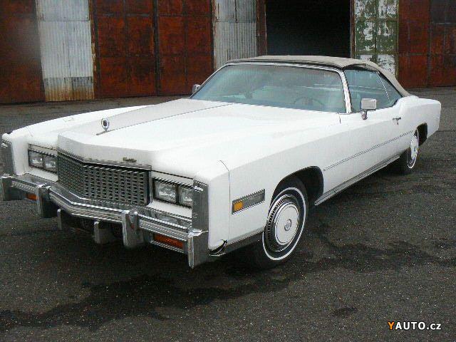 Prodám Cadillac Eldorado cabrio