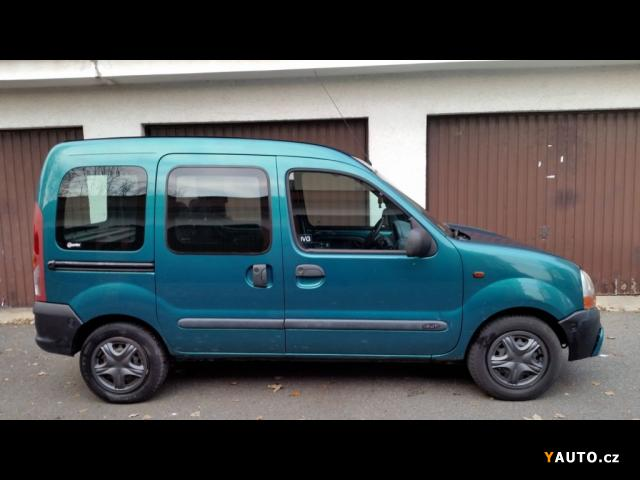 prod m renault kangoo 1 9 dti 5 m st klima 2x oupa prodej renault kangoo osobn auta. Black Bedroom Furniture Sets. Home Design Ideas
