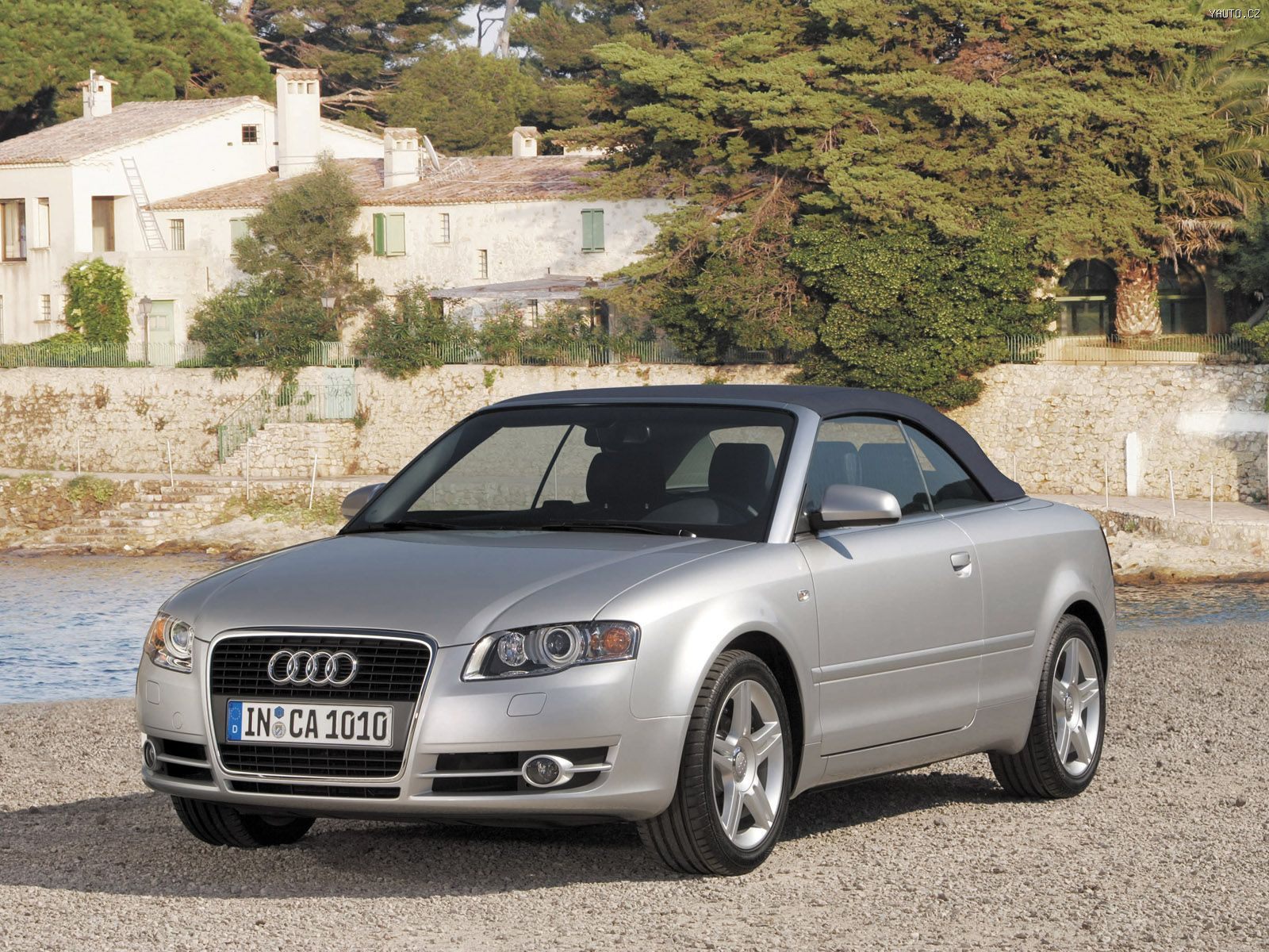 audi a4 cabrio 2005 auta na plochu tapety na plochu wallpapers. Black Bedroom Furniture Sets. Home Design Ideas