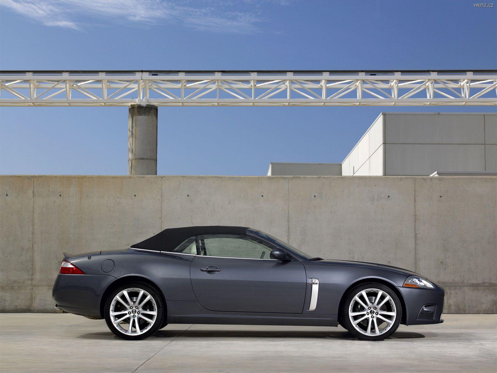 Jaguar XKR Convertible (2006) - Auta na plochu, tapety na plochu ...
