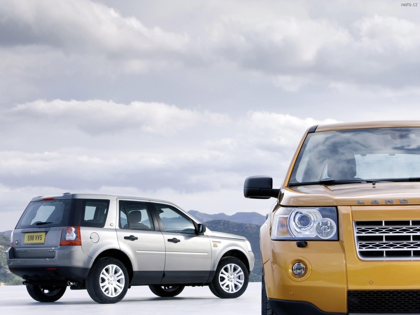 Land rover freelander 2 2006 auta na plochu tapety na plochu wallpapers