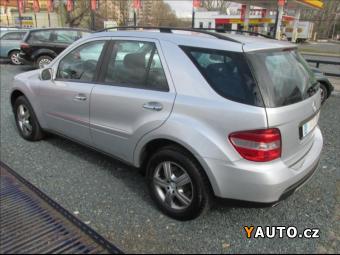 Prodám Mercedes-Benz Třídy M 3,5 KŮŽE, NAVIGACE, KAMERA, ALU