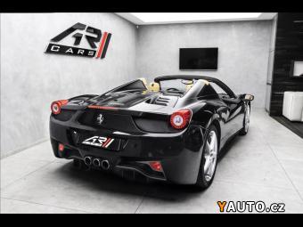 Prodám Ferrari 458 Spider, lift systém, záruka 7