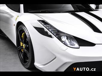 Prodám Ferrari 458 Speciale, karbon paket, CZ