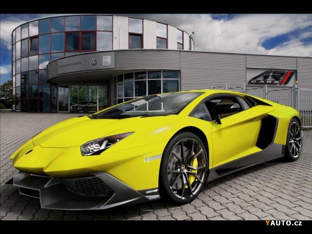 Prodám Lamborghini Aventador 50th Anniversario