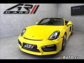 Prodám Porsche Boxster Spyder, CZ, Exclusive