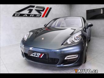 Prodám Porsche Panamera Turbo, bicolor interiér, sport