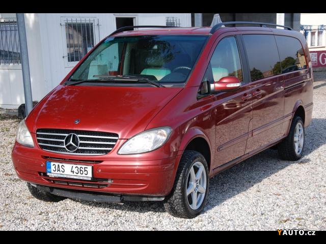 Prodám Mercedes-Benz Viano 2.2CDi 4x4 Automat 8-MÍST