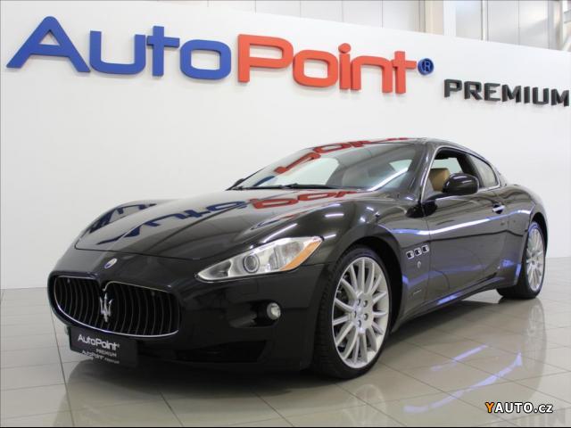 Prodám Maserati Granturismo 4,7 V8 S Automat 46 230km