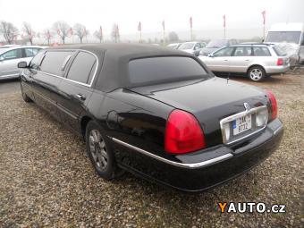 Prodám Lincoln Town Car 4.6i V8 178KW