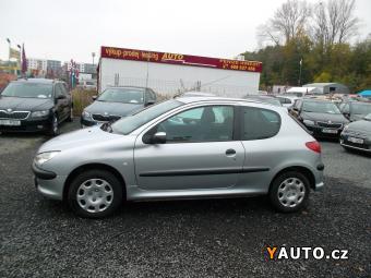 Prodám Peugeot 206 1.4i ČR, 1. MAJ., SERVISKA