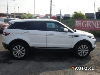 Prodám Land Rover Range Rover Evoque 2,0 TD4 180k AT 4WD, záruka
