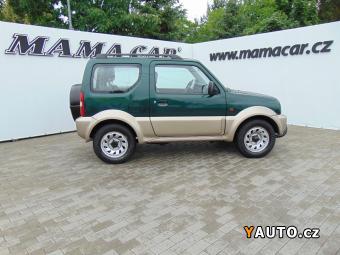 Prodám Suzuki Jimny 1.3i 59kW 4x4 PĚKNÝ STAV