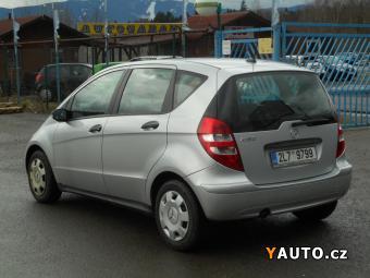 Prodám Mercedes-Benz Třídy A 150 1,5i 70KW 1. Majitel ČR Ser