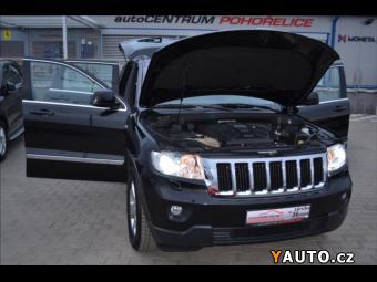Prodám Jeep Grand Cherokee 3,0L CRD*Výhřev*DVD*Bi-Xenon*1