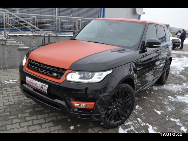 Prodám Land Rover Range Rover Sport HSE 3,0TDV6*Navi*Kamera*Kůže*