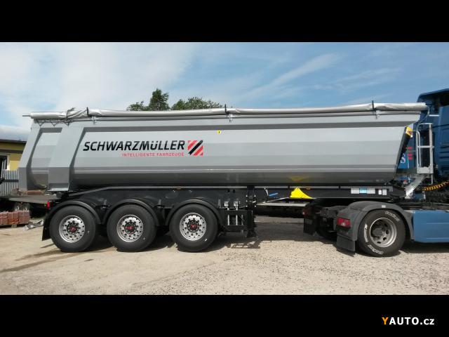 Prodám Schwarzmüller 29 m3 HARDOX, 6.460 kg