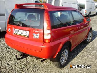 Prodám Honda HR-V 1.6 koup. v ČR 4x4, klima