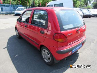 Prodám Daewoo Matiz 0,8i 38KW Nové v ČR