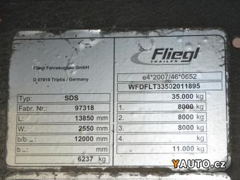 Prodám Fliegl SDS 350 lowdeck