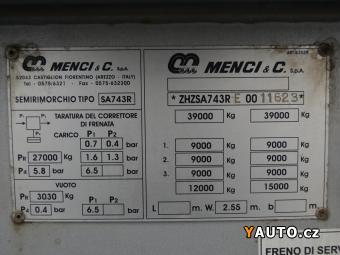 Prodám Menci SA 743R 28,5m3