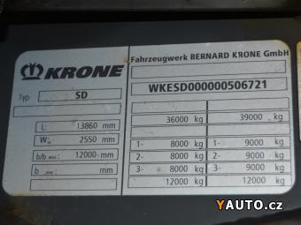 Prodám Krone SD lowdeck