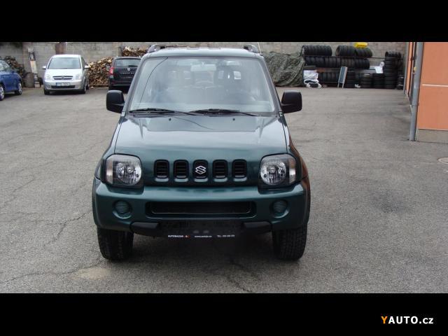 Prodám Suzuki Jimny 1.3i 16V 4x4