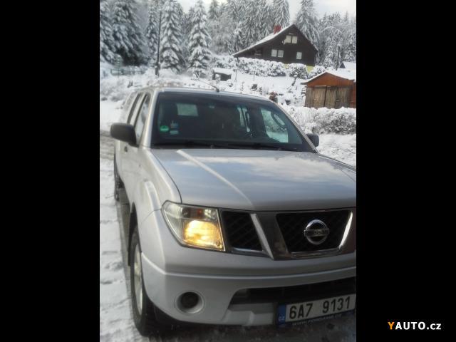 Prodám Nissan Navara 2, 5 TDi Double Cab