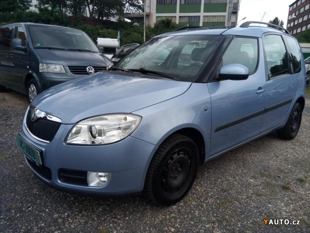 Prodám Škoda Roomster 1,9TDi DIGIKLIMA, PANORAMA
