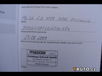 Prodám Mazda 6 2,0i16V Zadáno