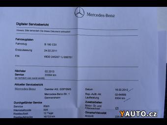 Prodám Mercedes-Benz Třídy B B 180CDi Zadáno