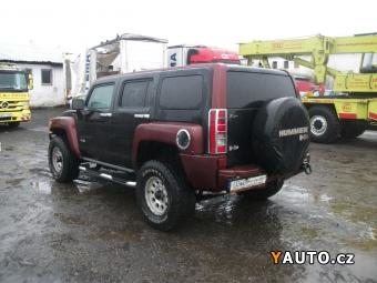 Prodám Hummer H3 3.5L, ETHANOL, 98000km