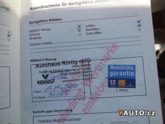 Prodám Renault Modus 1.6i